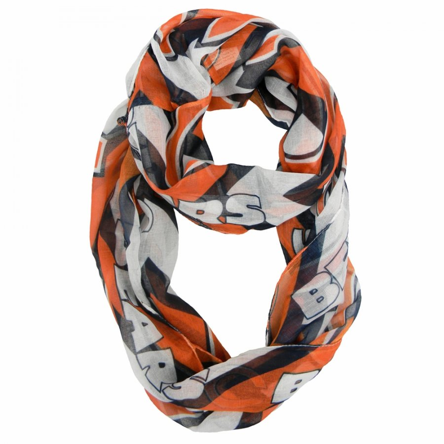Chicago Bears Chevron Sheer Infinity Scarf