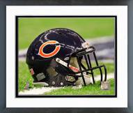 Chicago Bears Chicago Bears Helmet Framed Photo