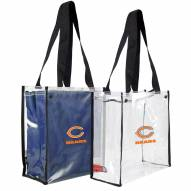 Chicago Bears Convertible Clear Tote