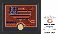 Chicago Bears Country Bronze Coin Photo Mint