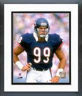 Chicago Bears Dan Hampton 1989 Action Framed Photo