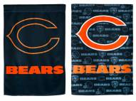 Chicago Bears Double Sided Glitter Garden Flag