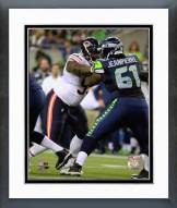 Chicago Bears Ego Ferguson 2014 Action Framed Photo