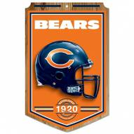 "Chicago Bears ""Established"" Wood Sign"