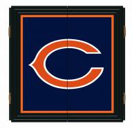 Chicago Bears Extreme Fan Dartboard Cabinet Set