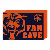 Chicago Bears Fan Cave Wooden Plock