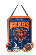 Chicago Bears Felt Door Hanger