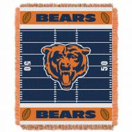 Chicago Bears Field Baby Blanket