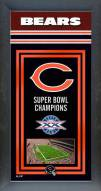Chicago Bears Framed Championship Print