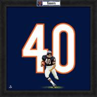 Chicago Bears Gale Sayers Uniframe Framed Jersey Photo