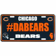 Chicago Bears Hashtag License Plate