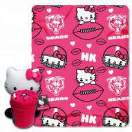 Chicago Bears Hello Kitty Blanket & Pillow