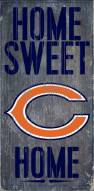 Chicago Bears Home Sweet Home Wood Sign