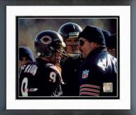 Chicago Bears Jim McMahon / Mike Ditka Framed Photo