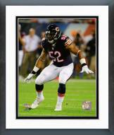 Chicago Bears Jonathan Bostic 2015 Action Framed Photo