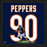 Chicago Bears Julius Peppers Uniframe Framed Jersey Photo