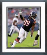 Chicago Bears Lamarr Houston 2014 Action Framed Photo
