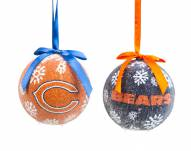 Chicago Bears LED Boxed Ornament Set