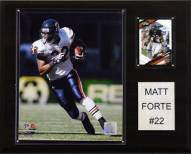 "Chicago Bears Matt Forte 12 x 15"" Player Plaque"