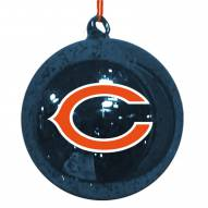 Chicago Bears Mercury Glass Ornament