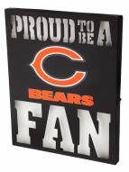 Chicago Bears Metal LED Wall Sign