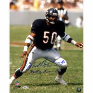 "Chicago Bears Mike Singletary w/ ""HOF 98"" Signed 16"" x 20"" Photo"