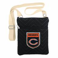 Chicago Bears Chevron Stitch Crossbody Bag