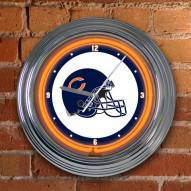 Chicago Bears NFL Neon Wall Clock