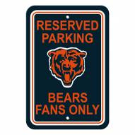 Chicago Bears Parking Sign - Set of 2