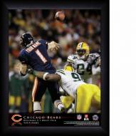 Chicago Bears Personalized NFL Action QB Framed Print