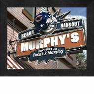 Chicago Bears Personalized Framed Sports Pub Print