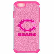 Chicago Bears Pink Pebble Grain iPhone 6/6s Plus Case