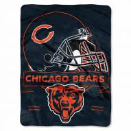 Chicago Bears Prestige Raschel Blanket