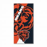 Chicago Bears Puzzle Beach Towel