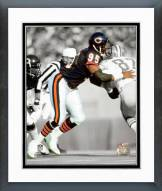 Chicago Bears Richard Dent Spotlight Action Framed Photo