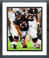 Chicago Bears Roberto Garza 2014 Action Framed Photo