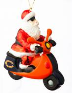 Chicago Bears Santa Scooter Ornament