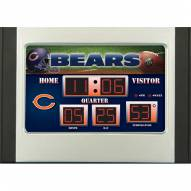 Chicago Bears Scoreboard Desk Clock