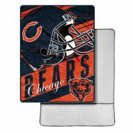 Chicago Bears Sherpa Foot Pocket Blanket