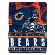 Chicago Bears Silk Touch Stacked Blanket
