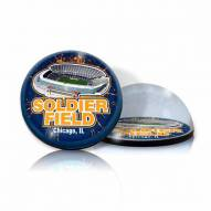 Chicago Bears Soldier Field Crystal Magnet