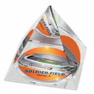 Chicago Bears Soldier Field Crystal Pyramid