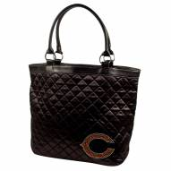 Chicago Bears Sport Noir Quilted Tote