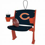 Chicago Bears Stadium Chair Tree Ornament