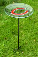 Chicago Bears Staked Bird Bath