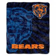Chicago Bears Strobe Sherpa Blanket