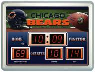 Chicago Bears Thermometer Scoreboard Clock