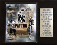 "Chicago Bears Walter Payton 12"" x 15"" Career Stat Plaque"