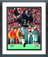 Chicago Bears Walter Payton 1987 Action Framed Photo