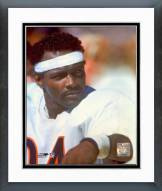 Chicago Bears Walter Payton On Sidelines Framed Photo